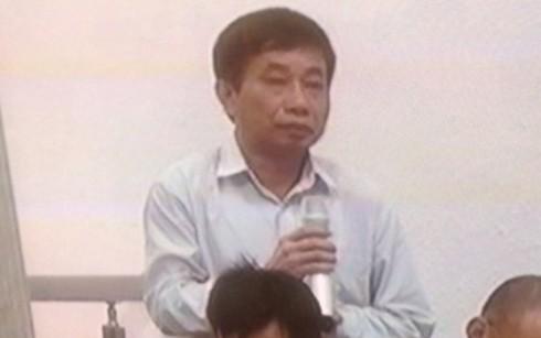 Ông Ninh Văn Quỳnh - cựu Phó TGĐ PVN trả lời thẩm vấn tại phiên xử Hà Văn Thắm