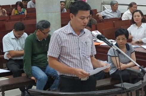 Nói lời sau cùng, cựu Phó TGĐ Công ty Housing Lê Hồng Cương so sánh với 34 bị cáo ở vụ án Hà Văn Thắm cùng đồng phạm.