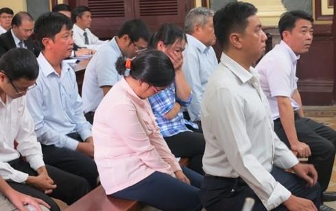 Cựu TGĐ Công ty Pharma Nguyễn Minh Hùng (trên cùng) cùng đồng phạm