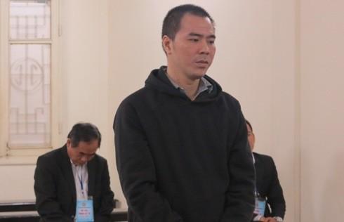 Phạm Viết Dũng tại phiên tòa