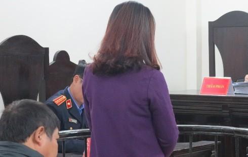 Nguyễn Thị Bích Ngọc tại phiên tòa phúc thẩm