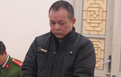 Dương Công Hải tại phiên tòa