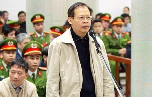 Bị cáo Phùng Đình Thực - nguyên Tổng giám đốc PVN tại phiên tòa