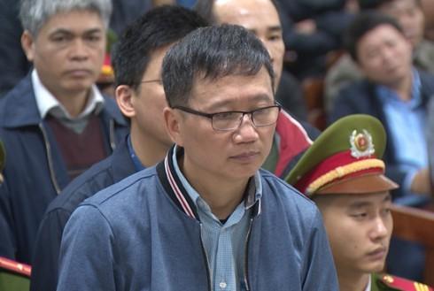 Bị cáo Trịnh Xuân Thanh - nguyên Chủ tịch HĐQT PVC