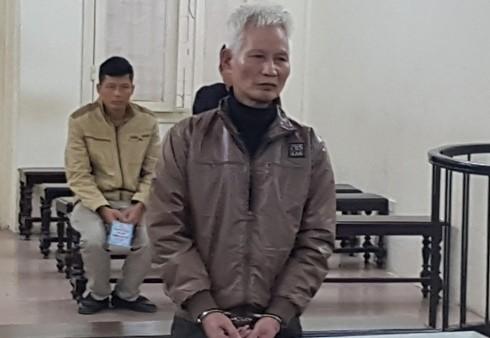 Bị cáo Lê Đình Hào tại phiên tòa