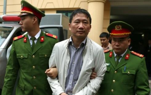 Ngày mai 24-1, bị cáo Trịnh Xuân Thanh tiếp tục ra hầu tòa ở vụ tham ô thứ 2