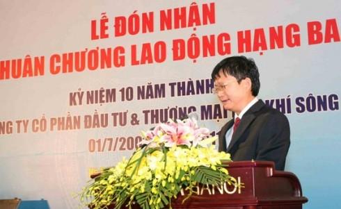 Bị cáo Đinh Mạnh Thắng (em trai ông Đinh La Thăng) thời điểm chưa can án