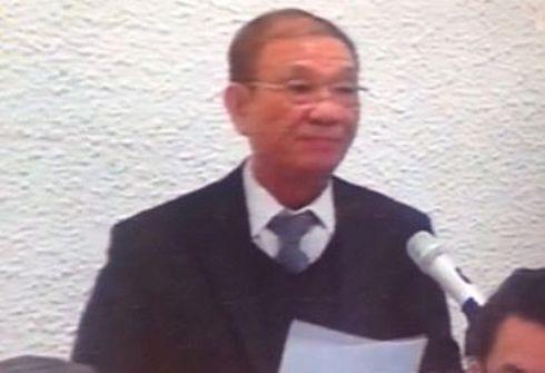 Luật sư Nguyễn Đình Hưng, người bào chữa cho bị cáo Thái Kiều Hương