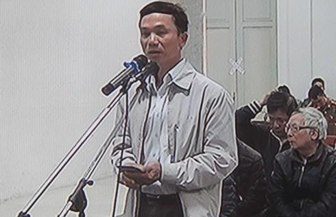 Nói lời sau cùng, bị cáo Nguyễn Văn Khải mong HĐXX xem xét thấu đáo vụ án