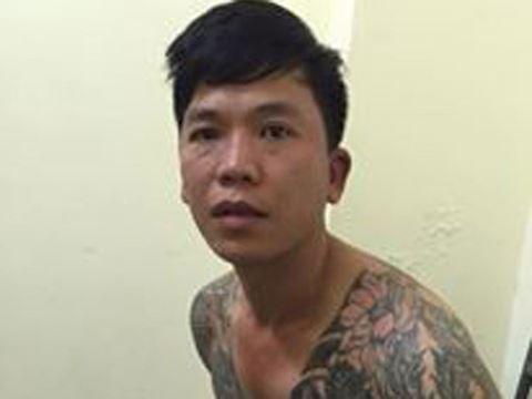 Đối tượng Trần Thanh Hải tại thời điểm bị cơ quan Công an bắt giữ.