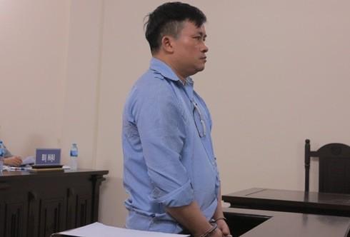 Bị cáo Trương Thanh Hải tại phiên tòa.