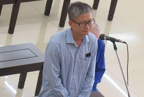 Bị cáo Đinh Mạnh Thắng tại phiên tòa phúc thẩm.