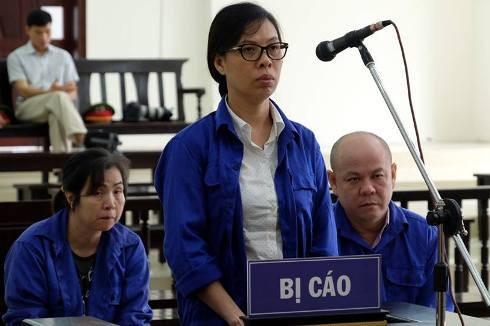 Tại phiên tòa phúc thẩm, bị cáo Thái Kiều Hương giữ nguyên nội dung kháng cáo.