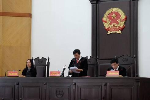 HĐXX phúc thẩm vụ án Trịnh Xuân Thanh và đồng phạm