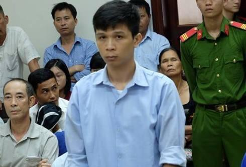Nguyễn Tài An tại phiên tòa phúc thẩm.