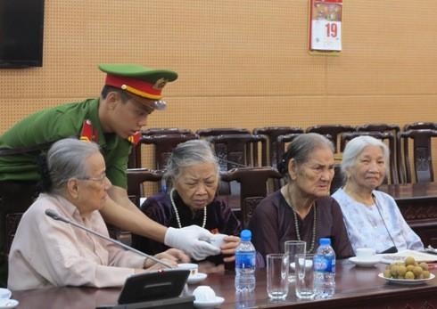 Thế hệ trẻ CATP Hà Nội hôm nay luôn trân trọng và biết ơn thế hệ cha anh đi trước.
