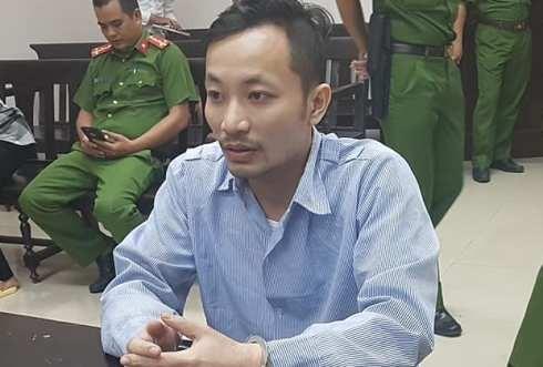 Bị cáo Phạm Quốc Hưng tại phiên tòa phúc thẩm.