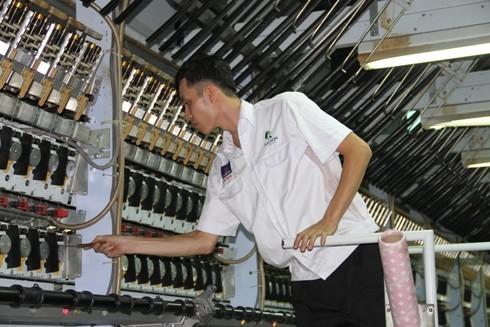 PVTEX đưa thêm 3 dây chuyền sợi DTY vào vận hành sản xuất
