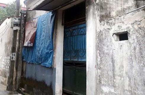 Ngôi nhà mẹ con Huế ở và cũng là hiện trường vụ án mạng đau lòng.