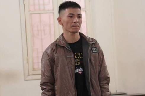 Giáp Văn Phương bị đưa ra xét xử tại phiên tòa.
