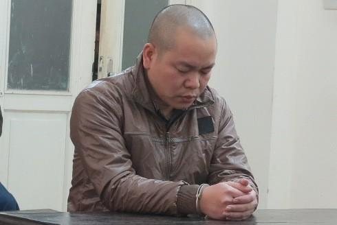 Mai Xuân Tâm bị đưa ra xét xử tại phiên tòa.