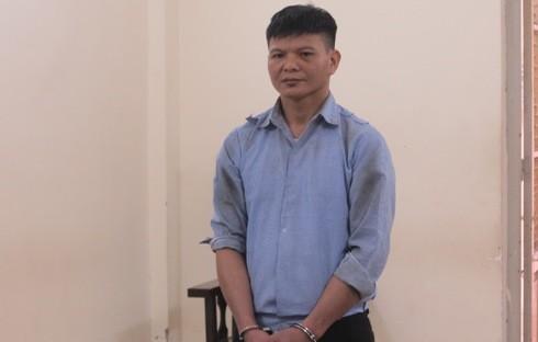 Lê Mỹ Huyên bị đưa ra xét xử tại phiên tòa.