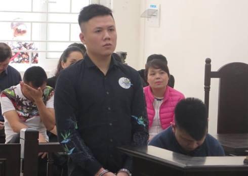 Nguyễn Mạnh Cường và đồng phạm tại phiên tòa.