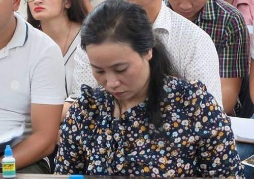 Bị cáo Lê Ngọc Lê kháng cáo kêu oan nhưng cấp phúc thẩm không chấp nhận.