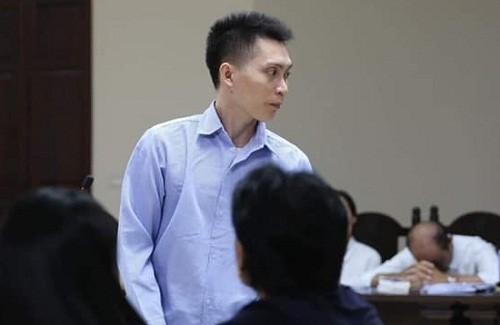 Nguyễn Xuân Trường tại phiên tòa phúc thẩm.