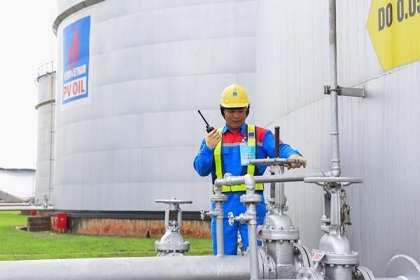 Kho xăng dầu của PVOIL