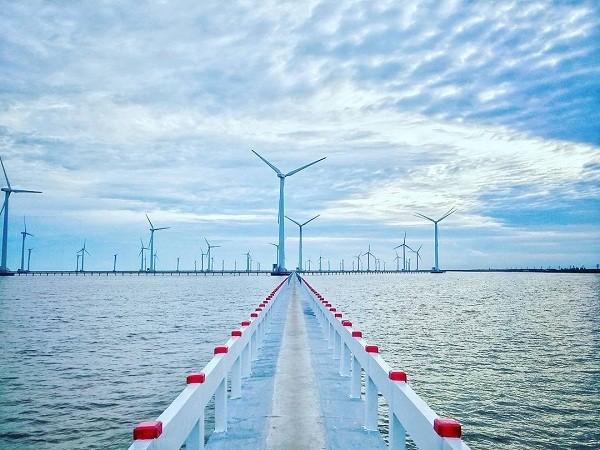 Cùng với Vietsovpetro, PVC-MS là nhà thầu chính chế tạo, lắp đặt cho dự án điện gió Kê Gà trên biển Bình Thuận.