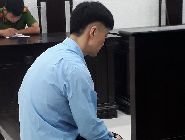 Bị cáo Yoon Saggi tại phiên tòa bị trì hoãn.