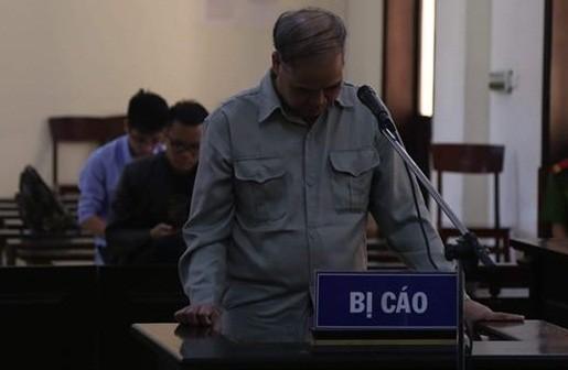 Bị cáo Đinh Bằng My bị đưa ra xét xử tại phiên tòa.