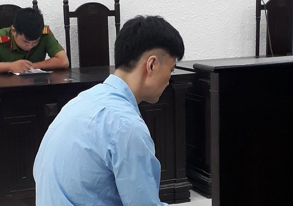 Bị cáo Yoon Saggi bị đưa ra xét xử tại phiên tòa.