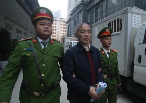 Bị cáo Lê Nam Trà - cựu Chủ tịch Hội đồng thành viên MobiFone.