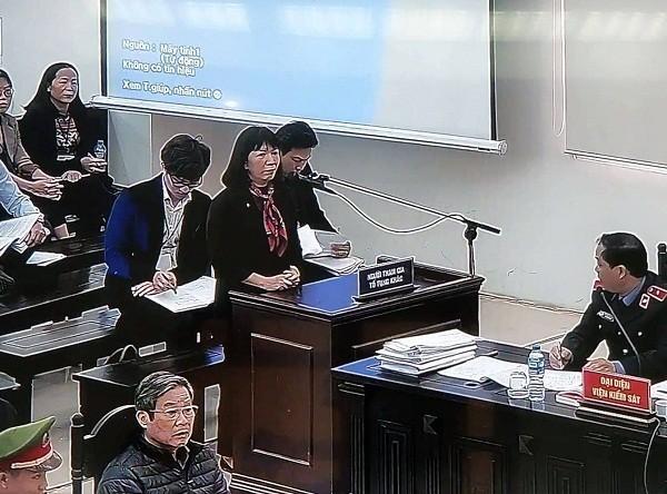 Với tư cách người có quyền lợi, nghĩa vụ liên quan, vợ bị cáo Trương Minh Tuấn đề nghị Tòa án gỡ bỏ niêm phong ngôi nhà của gia đình bà này.