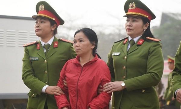 Bùi Thị Kim Thu (nữ bị cáo duy nhất trong vụ án) không thành khẩn nhận tội.