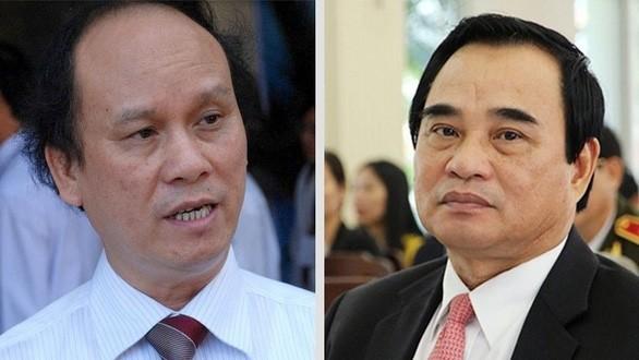 Hai cựu Chủ tịch TP Đà Nẵng Trần Văn Minh và Văn Hữu Chiến.
