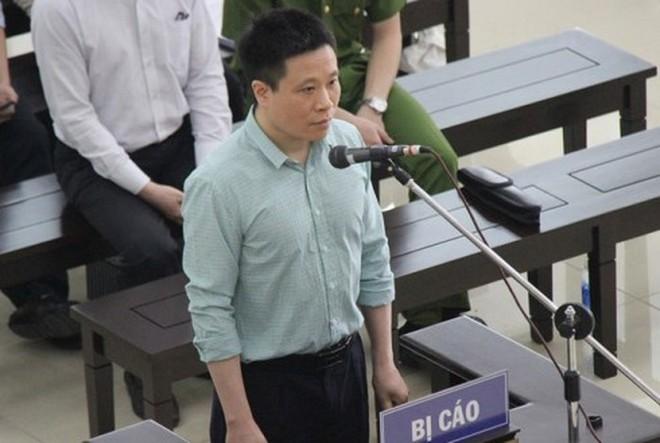 Cựu Chủ tịch HĐQT Ngân hàng TMCP Đại Dương Hà Văn Thắm.