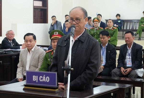 Bị cáo Trần Văn Minh - cựu Chủ tịch TP Đà Nẵng.