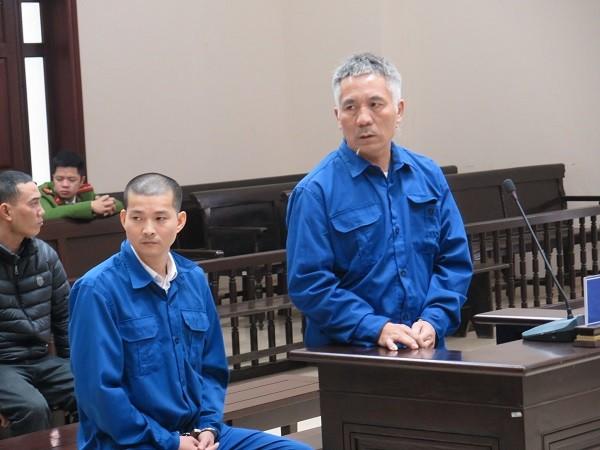 Hai bị cáo trong đường dây mang thai hộ bị đưa ra xét xử tại phiên tòa phúc thẩm.