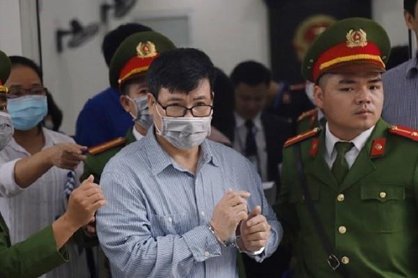 Bị cáo Trương Duy Nhất bị triệu tập tới phiên tòa.