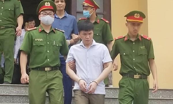 Bị cáo Đỗ Mạnh Tuấn.