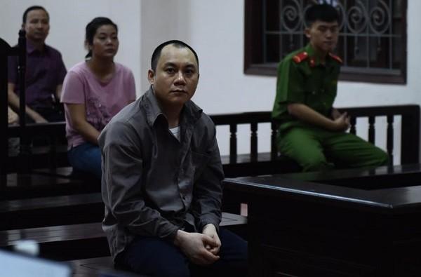 Bị cáo Lê Ngọc Hoàng tại phiên tòa phúc thẩm lần thứ hai.