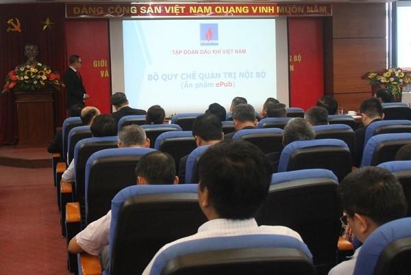 Chánh Văn phòng Tập đoàn Dầu khí Việt Nam giới thiệu những nét cơ bản của bộ quy chế.