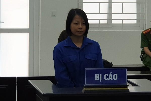 Đoàn Mai Thanh bị đưa ra xét xử tại phiên tòa.