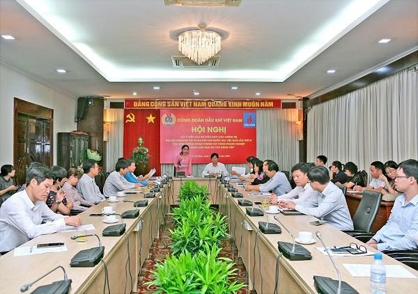 Hội nghị lấy ý kiến cho Dự thảo Báo cáo chính trị Đại hội của Công đoàn DKVN