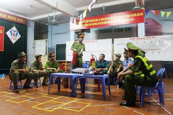 CAP Ngô Thì Nhậm hướng dẫn phương án PCCC