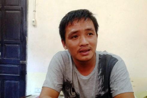 Đối tượng Tuấn bị bắt giữ sau 8 năm bị truy nã