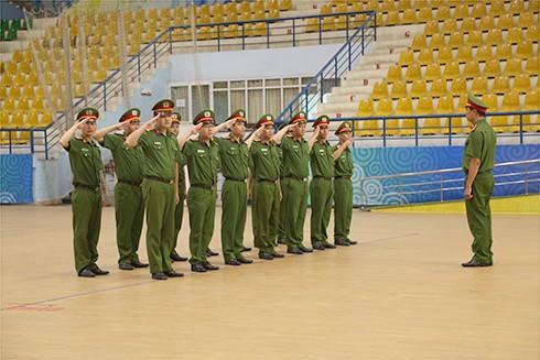 Phần thi điều lệnh do CAP Thành Công thực hiện